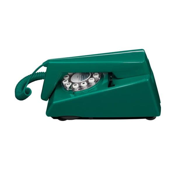 Retro funkční telefon Trim Peacock Green