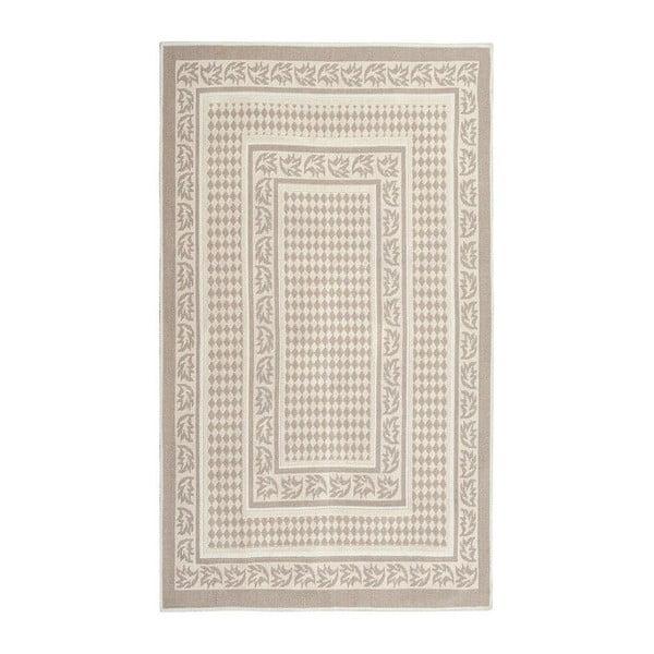 Olabisi Brown cream szőnyeg, 60 x 90 cm