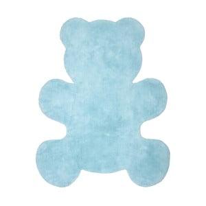 Dětský modrý koberec Nattiot Little Teddy, 80x100cm