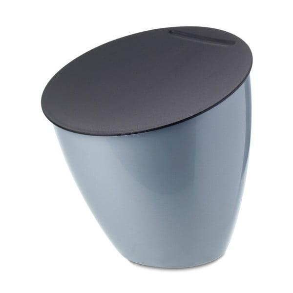 Světle modrý odpadkový koš na kuchyňskou linku Rosti Mepal Calypso, 2,2l