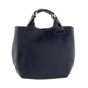 Kožená kabelka Everyday Italia, modrá