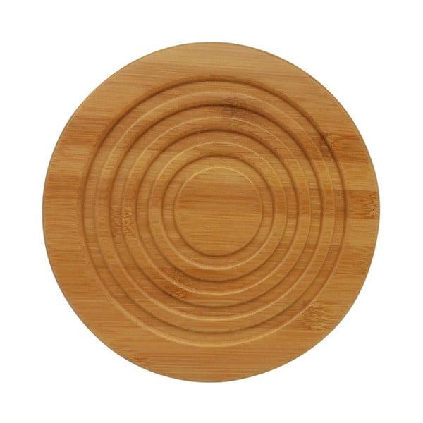 Drewniana podkładka pod dzbanek do herbaty Bambum