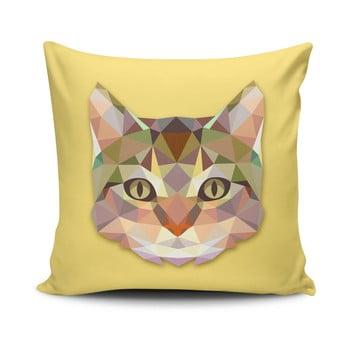 Față de pernă cu adaos de bumbac Cushion Love Cat, 45 x 45 cm imagine