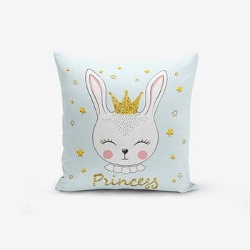 Față de pernă cu amestec din bumbac Minimalist Cushion Covers Princess Rabbit, 45 x 45 cm de la Minimalist Cushion Covers