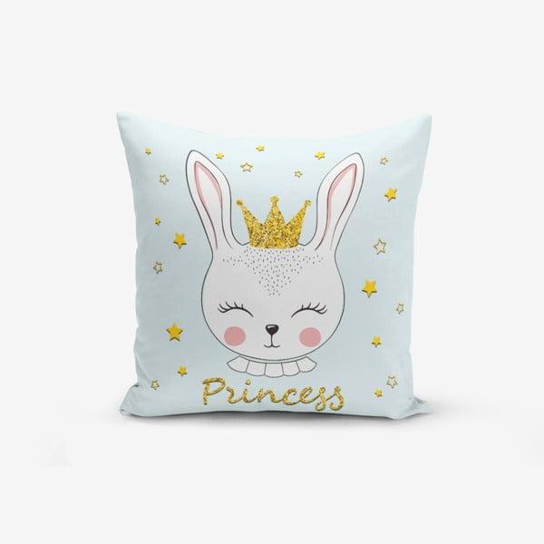 Față de pernă cu amestec din bumbac Minimalist Cushion Covers Princess Rabbit, 45 x 45 cm