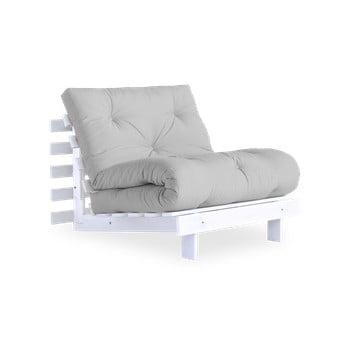 Fotoliu extensibil Karup Design Roots White/Light Grey de la Karup Design
