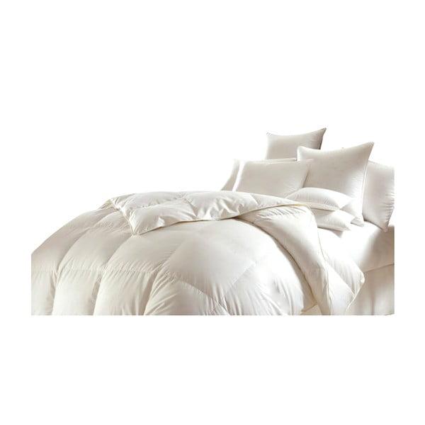 Peřová deka 200x220 cm (50% prachového peří)