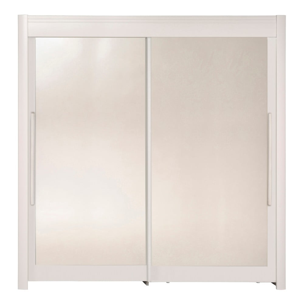 Bílá šatní skříň s posuvnými dveřmi Parisot Adorlée, šířka200cm