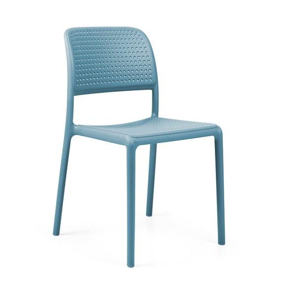 Stohovatelná židle Bora Bistrot Celeste