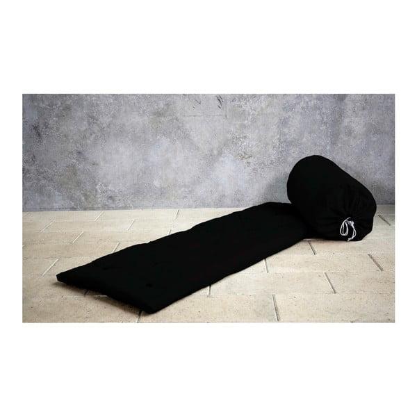 Futón/posteľ pre návštevy Karup Bed In a Bag Black
