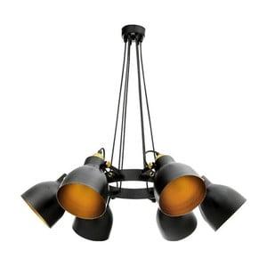 Černé závěsné svítidlo Masivworks Pinaclo