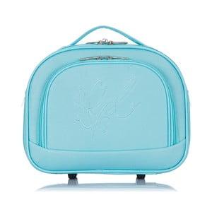 Modré příruční zavazadlo Les P'tites Bombes