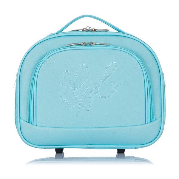 Niebieski kuferek podróżny Les P'tites Bombes