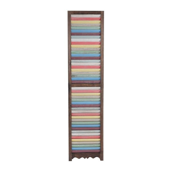 Paravan Patchwork Pastel Brown, 161x170 cm