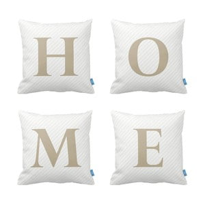 Set 4 perne Homemania Home, 43 x 43 cm