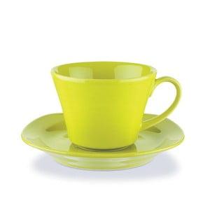 Sada hrníčků na kávu 200 ml, zelená, 6 ks
