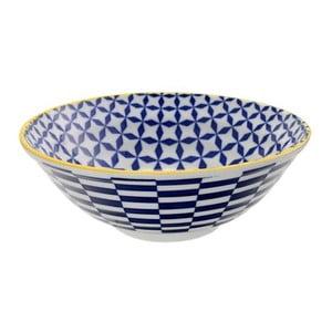 Porcelánová miska Geo Noodle Geometric No3, 21x7,8 cm