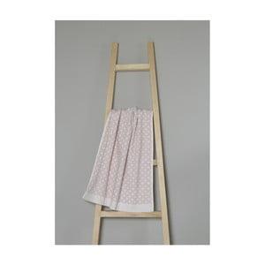 Světle růžový bavlněný ručník My Home Plus Spa, 50 x 70 cm