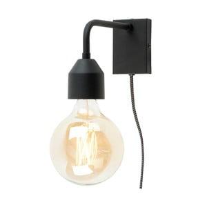 Černá nástěnná lampa Citylights Madrid