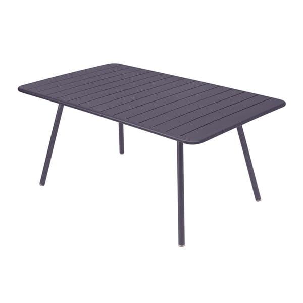 Lila kovový jídelní stůl Fermob Luxembourg
