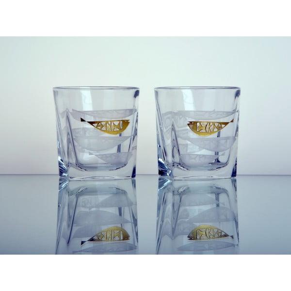 Whisky set Zlatá rybka, exkluzivně pro Bonami