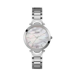 Dámské hodinky ve stříbrné barvě s páskem z nerezové oceli Guess W1090L1