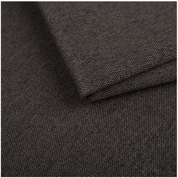 Tmavě šedá rozkládací pohovka s lenoškou Cosmopolitan design Milano