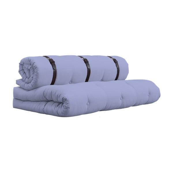 Variabilní pohovka s koženými pásky Karup Buckle Up Blue Breeze