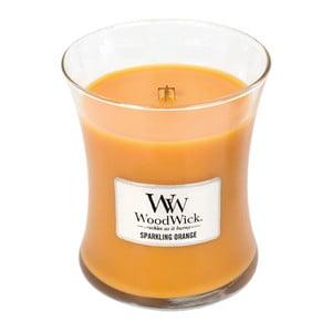Svíčka s vůní pomeranče WoodWick, dobahoření60hodin