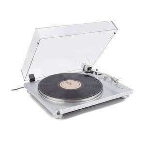 Gramofon ve stříbrné barvě GPO PR 100