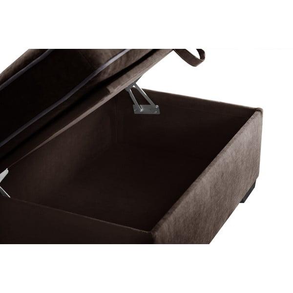 Taburetka Jalouse Maison Serena, čokoládová