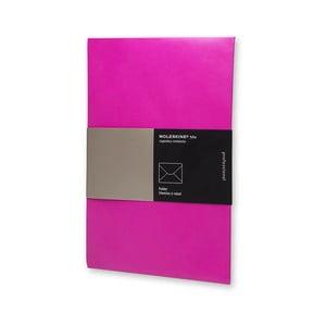 Papírová složka na dokumenty Moleskine Hot Pink, A4