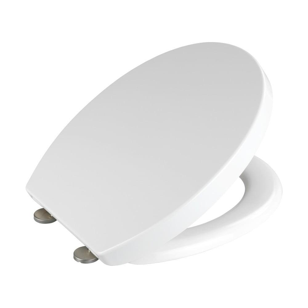 Produktové foto Bílé WC sedátko z duroplastu Wenko Tilos