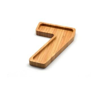 Platou din bambus Bambum Numero Seven