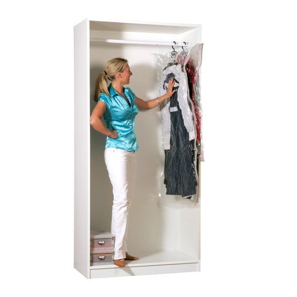 Vakuové obaly na oblečení Compactor Clear M+L, 2 ks