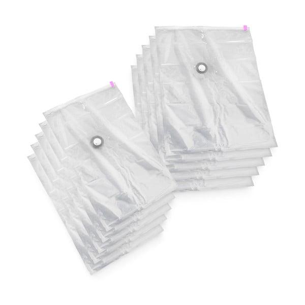 Sada 10 vakuových úložných obalů Compactor Vacuum Bags, 55 x 90 cm