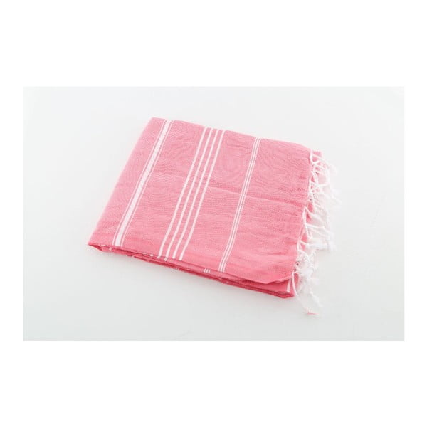 Hammam osuška Sultan Pink, 100x180 cm