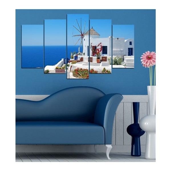 Ocean Breeze többrészes kép, 102x60cm - 3D Art