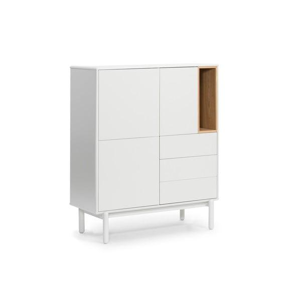 Krémově bílá skříňka Teulat Corvo