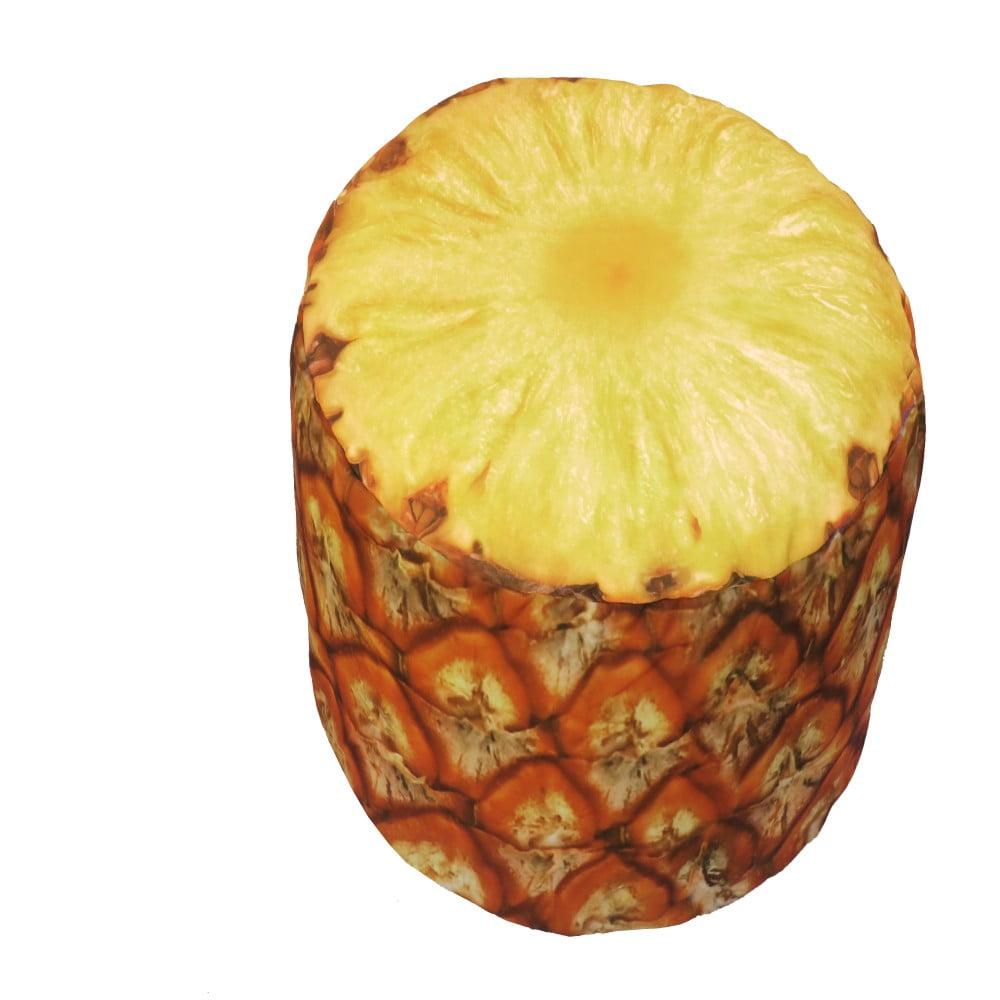 Nafukovací puf ve tvaru ananasu Sunvibes
