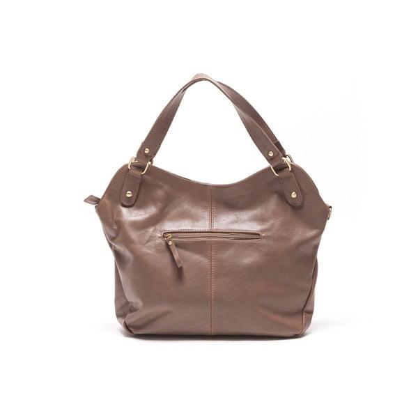 Kožená kabelka Renata Corsi 2114 Fango