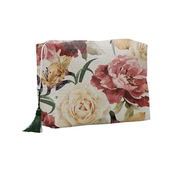 Roses kozmetikai táska - Linen Couture