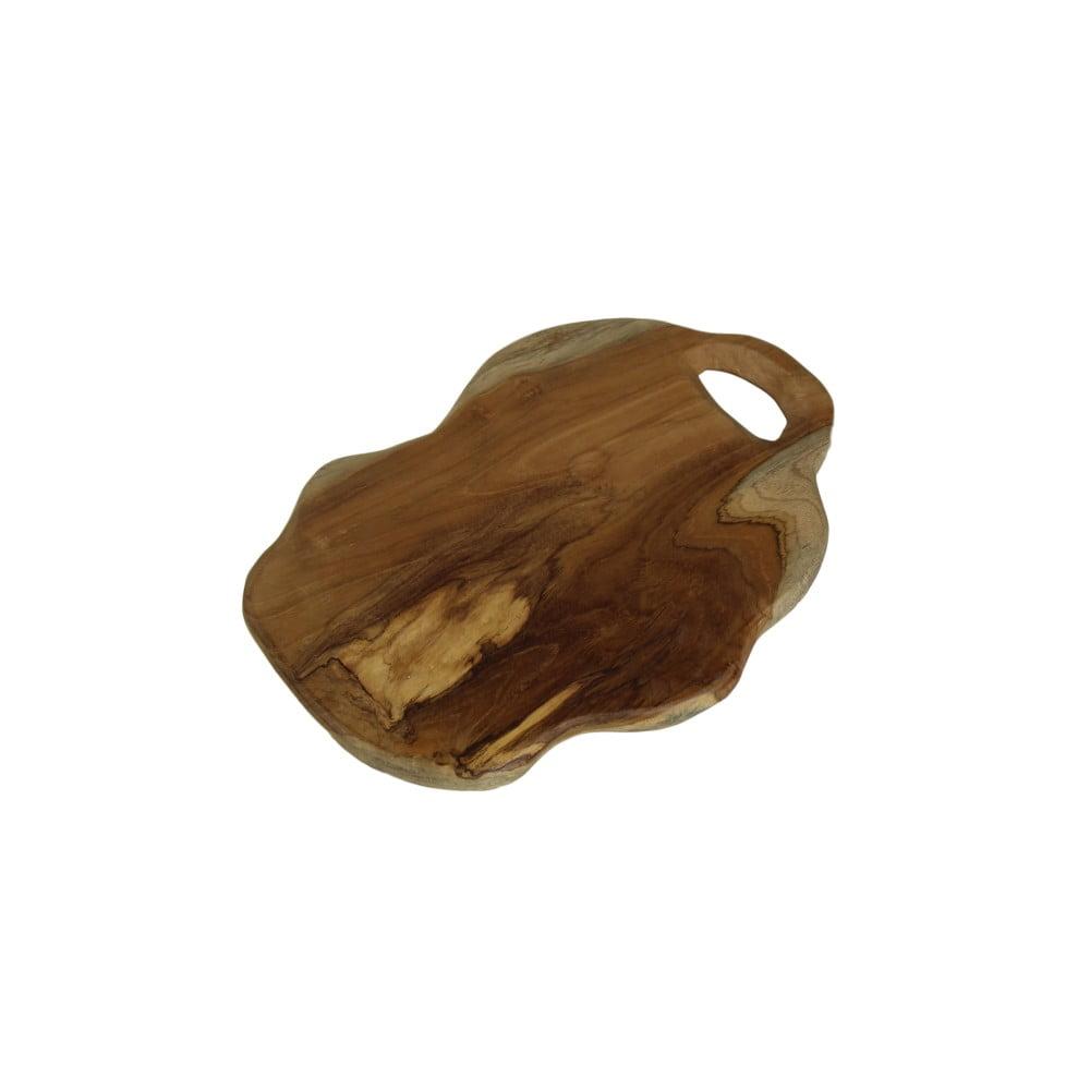 Krájecí prkénko z teakového dřeva HSM Collection Flate S