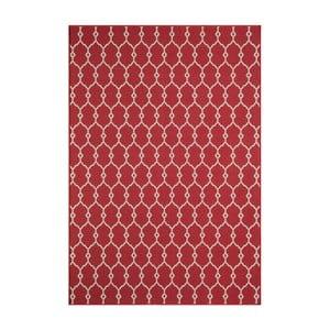 Červený koberec Nourison Baja Cuzco, 170 x 119 cm