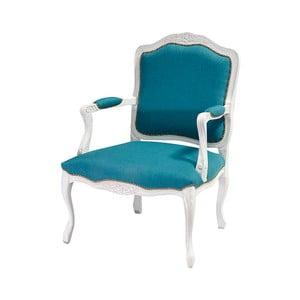 Modro-bílý židle Evergreen House Patchwork Ocean