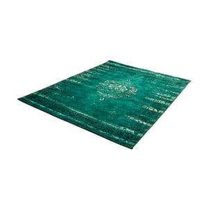 Zelený koberec s příměsí bavlny Cotex Centro, 140 x 200 cm