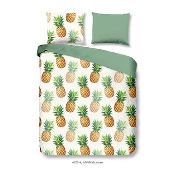 Lenjerie De Pat Din Bumbac Satinat Muller Textiels Premento Ananas, 140 X 200 Cm