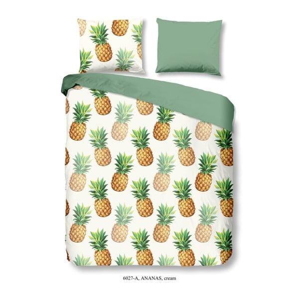 Premento Ananas egyszemélyes pamut ágyneműhuzat garnitúra, 140 x 200 cm - Good Morning