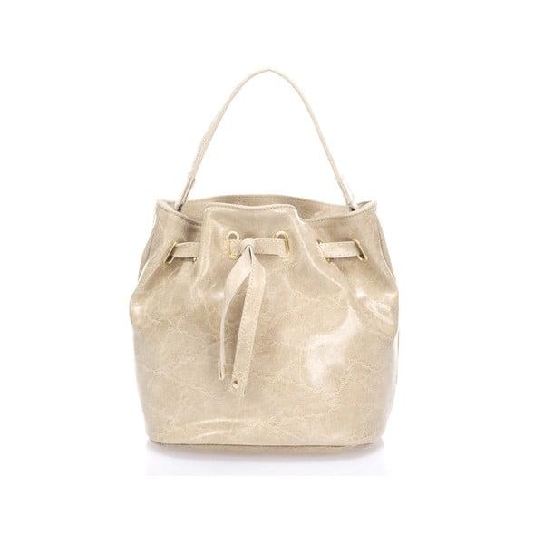 Kožená kabelka Prisha, taupe