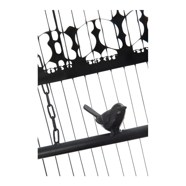 Dekorativní klec s ptáčkem